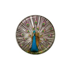 Indian Peacock Plumage Hat Clip Ball Marker (4 Pack) by Simbadda