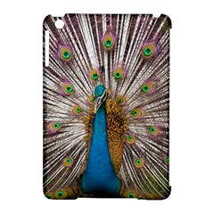Indian Peacock Plumage Apple Ipad Mini Hardshell Case (compatible With Smart Cover) by Simbadda