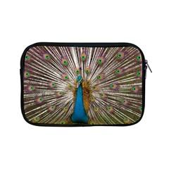 Indian Peacock Plumage Apple Ipad Mini Zipper Cases by Simbadda