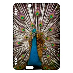 Indian Peacock Plumage Kindle Fire Hdx Hardshell Case by Simbadda