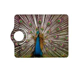 Indian Peacock Plumage Kindle Fire Hd (2013) Flip 360 Case by Simbadda