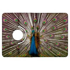 Indian Peacock Plumage Kindle Fire Hdx Flip 360 Case by Simbadda