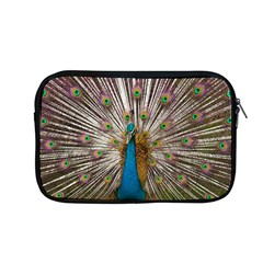Indian Peacock Plumage Apple Macbook Pro 13  Zipper Case by Simbadda