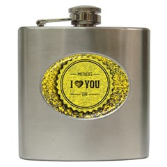 Happy Mother Day Hip Flask (6 Oz) by Simbadda