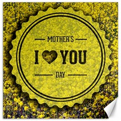 Happy Mother Day Canvas 16  X 16   by Simbadda