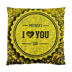 Happy Mother Day Standard Cushion Case (one Side) by Simbadda