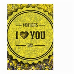 Happy Mother Day Small Garden Flag (two Sides) by Simbadda