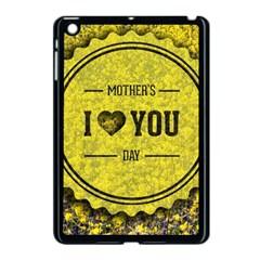 Happy Mother Day Apple Ipad Mini Case (black) by Simbadda