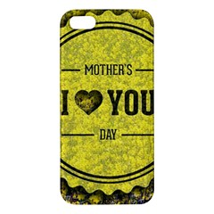 Happy Mother Day Iphone 5s/ Se Premium Hardshell Case by Simbadda
