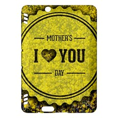 Happy Mother Day Kindle Fire Hdx Hardshell Case by Simbadda