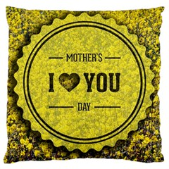 Happy Mother Day Standard Flano Cushion Case (two Sides) by Simbadda