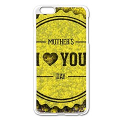Happy Mother Day Apple Iphone 6 Plus/6s Plus Enamel White Case by Simbadda