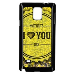 Happy Mother Day Samsung Galaxy Note 4 Case (black)