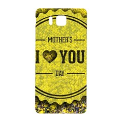 Happy Mother Day Samsung Galaxy Alpha Hardshell Back Case by Simbadda