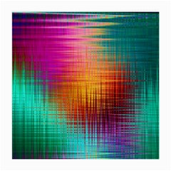 Colourful Weave Background Medium Glasses Cloth (2 Side) by Simbadda