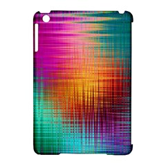Colourful Weave Background Apple Ipad Mini Hardshell Case (compatible With Smart Cover) by Simbadda
