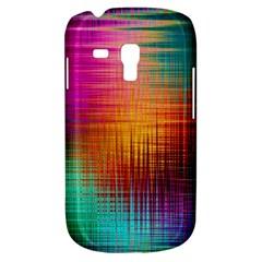Colourful Weave Background Galaxy S3 Mini by Simbadda