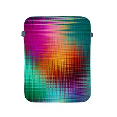 Colourful Weave Background Apple Ipad 2/3/4 Protective Soft Cases by Simbadda
