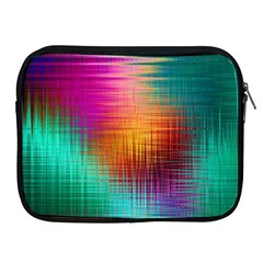 Colourful Weave Background Apple Ipad 2/3/4 Zipper Cases by Simbadda