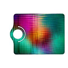 Colourful Weave Background Kindle Fire Hd (2013) Flip 360 Case by Simbadda