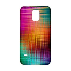 Colourful Weave Background Samsung Galaxy S5 Hardshell Case  by Simbadda