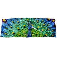 Peacock Bird Animation Body Pillow Case (dakimakura) by Simbadda