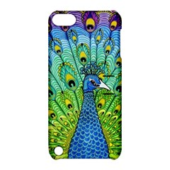 Peacock Bird Animation Apple Ipod Touch 5 Hardshell Case With Stand by Simbadda