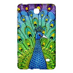 Peacock Bird Animation Samsung Galaxy Tab 4 (7 ) Hardshell Case  by Simbadda