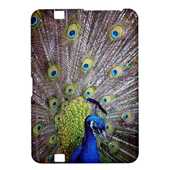 Peacock Bird Feathers Kindle Fire Hd 8 9  by Simbadda