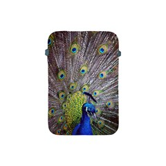 Peacock Bird Feathers Apple Ipad Mini Protective Soft Cases by Simbadda