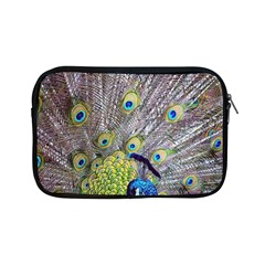 Peacock Bird Feathers Apple Ipad Mini Zipper Cases by Simbadda