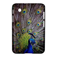 Peacock Bird Feathers Samsung Galaxy Tab 2 (7 ) P3100 Hardshell Case  by Simbadda