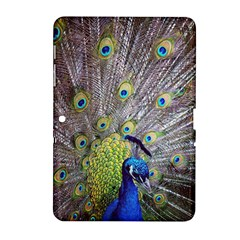 Peacock Bird Feathers Samsung Galaxy Tab 2 (10 1 ) P5100 Hardshell Case  by Simbadda