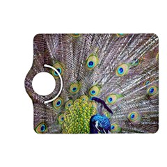 Peacock Bird Feathers Kindle Fire Hd (2013) Flip 360 Case by Simbadda
