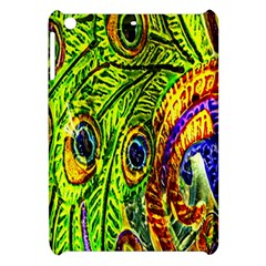 Peacock Feathers Apple Ipad Mini Hardshell Case by Simbadda