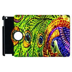 Peacock Feathers Apple Ipad 2 Flip 360 Case by Simbadda