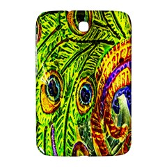 Peacock Feathers Samsung Galaxy Note 8 0 N5100 Hardshell Case  by Simbadda