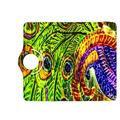 Peacock Feathers Kindle Fire Hdx 8 9  Flip 360 Case by Simbadda