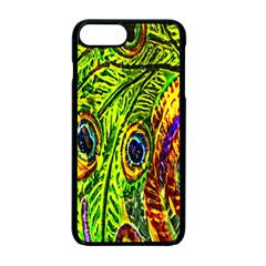 Peacock Feathers Apple Iphone 7 Plus Seamless Case (black) by Simbadda