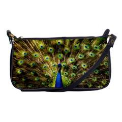 Peacock Bird Shoulder Clutch Bags by Simbadda