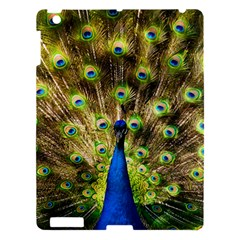 Peacock Bird Apple Ipad 3/4 Hardshell Case by Simbadda