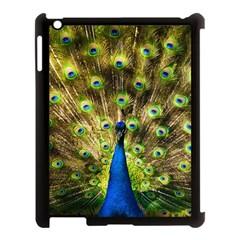 Peacock Bird Apple Ipad 3/4 Case (black) by Simbadda