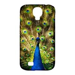 Peacock Bird Samsung Galaxy S4 Classic Hardshell Case (pc+silicone) by Simbadda