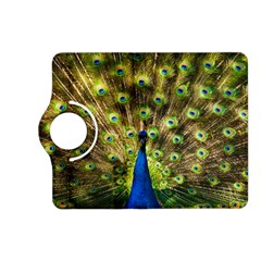 Peacock Bird Kindle Fire Hd (2013) Flip 360 Case by Simbadda