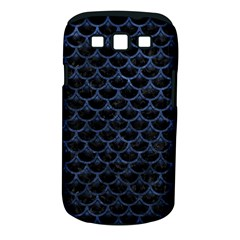Scales3 Black Marble & Blue Stone Samsung Galaxy S Iii Classic Hardshell Case (pc+silicone) by trendistuff