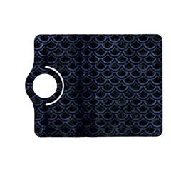 Scales2 Black Marble & Blue Stone Kindle Fire Hd (2013) Flip 360 Case by trendistuff