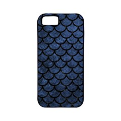 Scales1 Black Marble & Blue Stone (r) Apple Iphone 5 Classic Hardshell Case (pc+silicone) by trendistuff