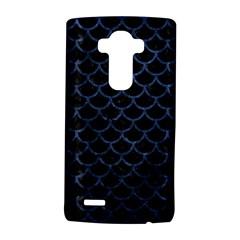 Scales1 Black Marble & Blue Stone Lg G4 Hardshell Case by trendistuff