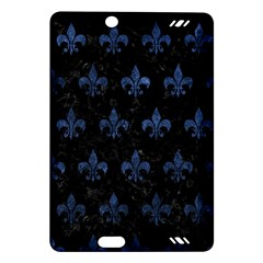 Royal1 Black Marble & Blue Stone (r) Amazon Kindle Fire Hd (2013) Hardshell Case by trendistuff