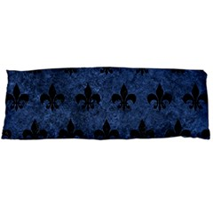Royal1 Black Marble & Blue Stone Body Pillow Case (dakimakura) by trendistuff
